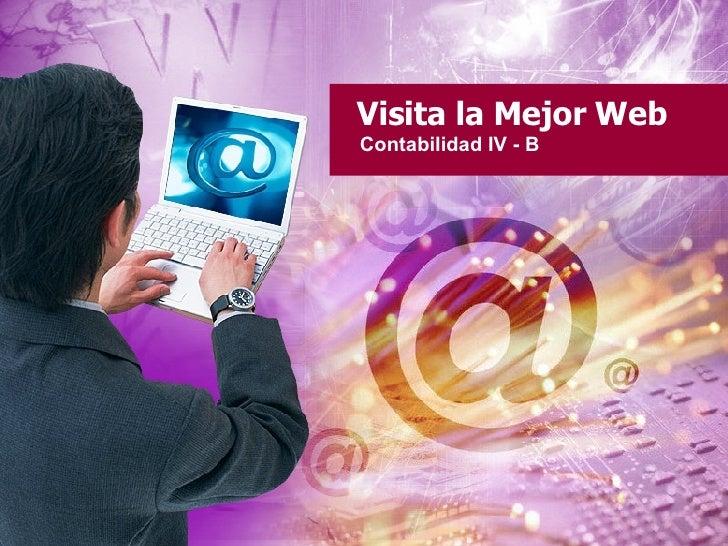 Visita la Mejor Web Contabilidad IV - B
