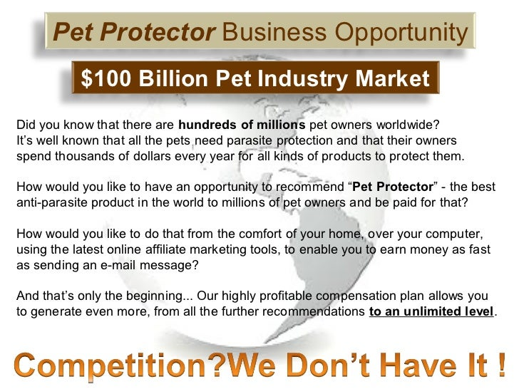 Oz Pet Protector - New Revolution in Home Based Business