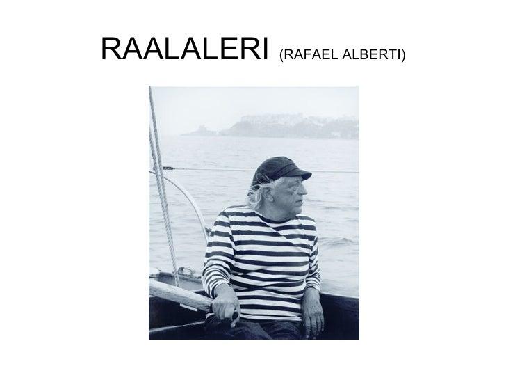 RAALALERI  (RAFAEL ALBERTI)