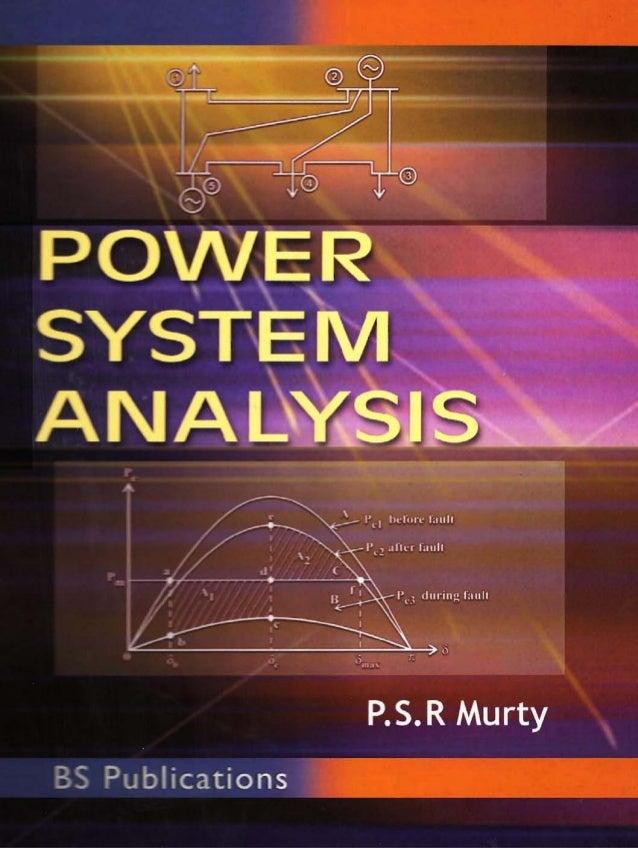 Power System Analysis Power system analysis psr