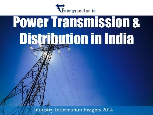 transmission distribution scenario in india