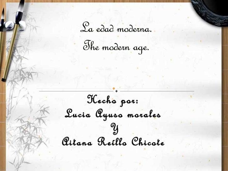 Hecho por:Lucia Ayuso morales         YAitana Reíllo Chicote