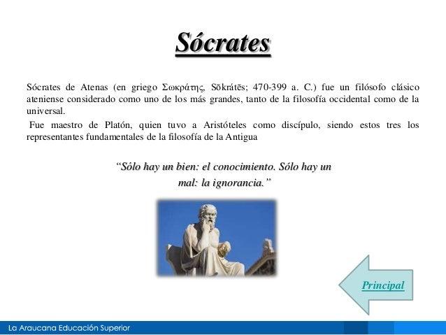Filosofos de la Antigua Grecia Slide 3
