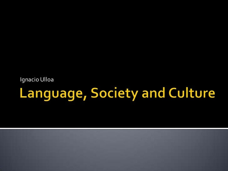 language and society This chapter introduces this volume on sociolinguistics, noting how this study differs from existing work it considers sociolinguistics as an interdisciplinary exercise, emphasizing new methodological developments, particularly the convergence of linguistic anthropology and variationist.