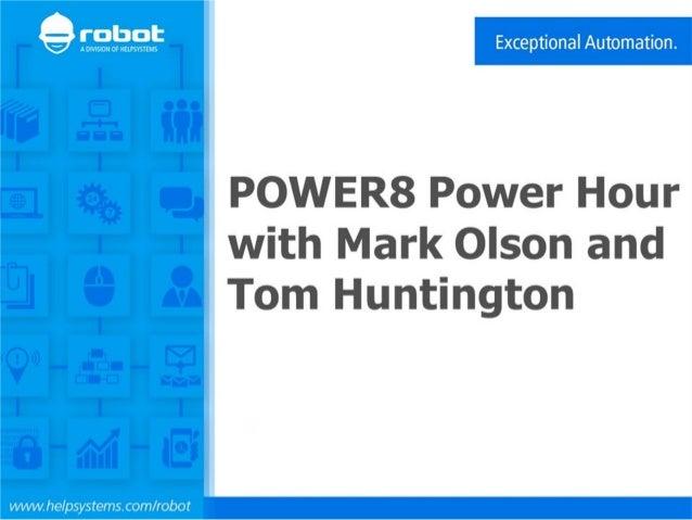 © 2014 IBM Corporation IBM Power Systems Power Systems Hardware: Today and Tomorrow Jan, 2015 Mark Olson olsonm@us.ibm.com