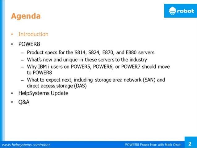 © 2014 IBM Corporation IBM Power Systems 2 Processor Technology Roadmap POWER8 22 nm POWER5 130 nm POWER6 65 nm POWER7 45 ...