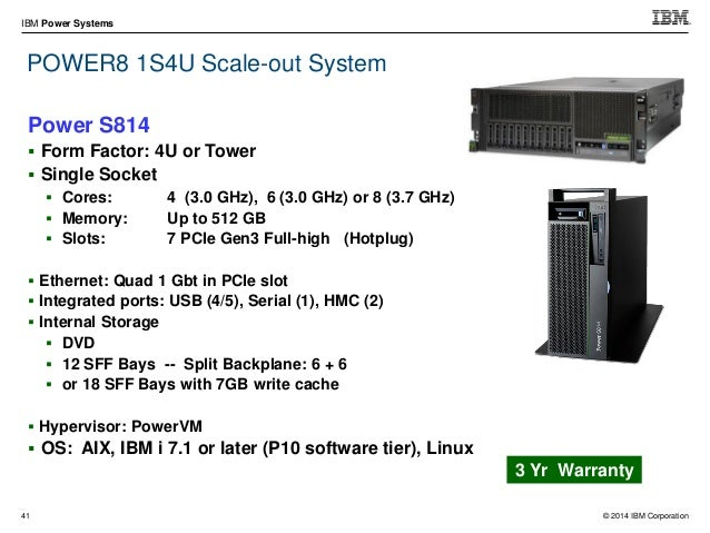 © 2014 IBM Corporation IBM Power Systems 56 PCIe I/O Drawer