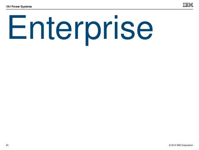 © 2014 IBM Corporation IBM Power Systems 58 IO Bandwidth (Comparing I/O Drawers) 0 10 2 0 3 0 4 0 5 0 6 0 7 0 #5877 #EMX0 ...