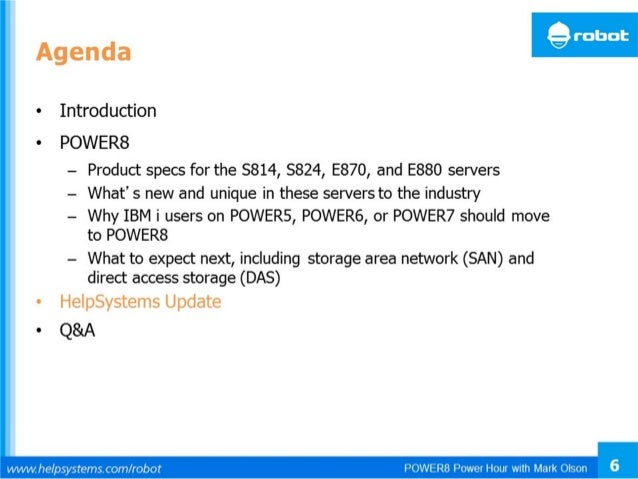 © 2014 IBM Corporation IBM Power Systems 7 Memory Buffer DRAM Chips Intelligence Moved into Memory • Previously on POWER7+...