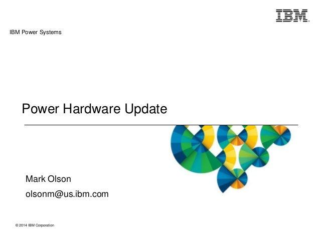 POWER8 Power Hour with Mark Olson
