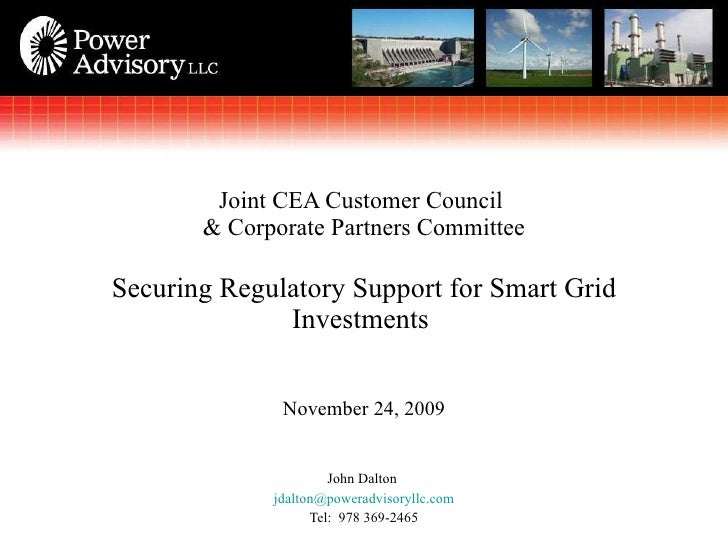 <ul><li>John Dalton  </li></ul><ul><li>[email_address] </li></ul><ul><li>Tel:  978 369-2465 </li></ul>Joint CEA Customer C...