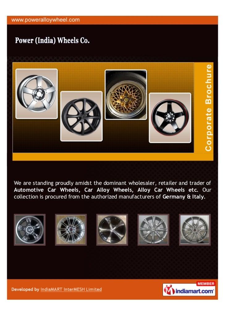 Power India Wheels Co., Ernakulam, Car Alloy Wheels
