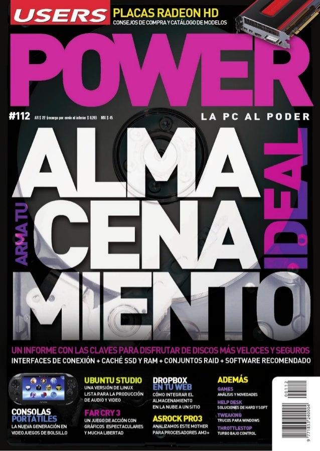 Revista User: Power almacenamiento ideal