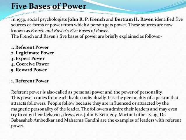power base essays