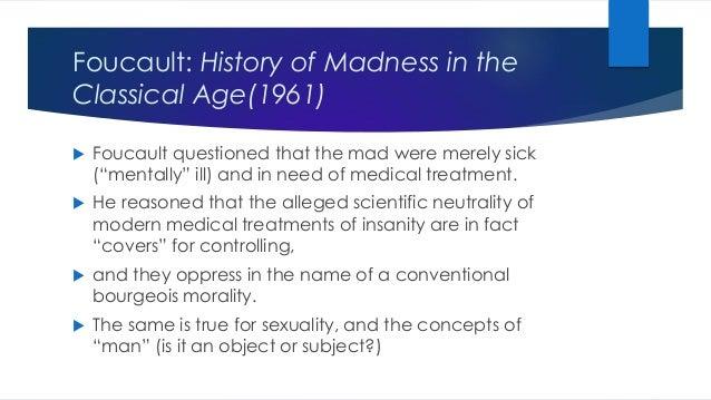 foucault history of madness pdf