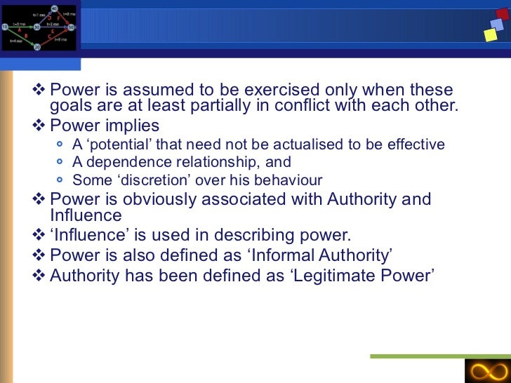 describe the differences between power and authority