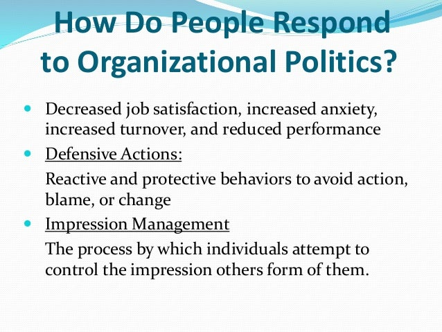 organisational politics International hrm: national business systems, organizational politics and the international division of labour in mncs tony edwards king's college london,.