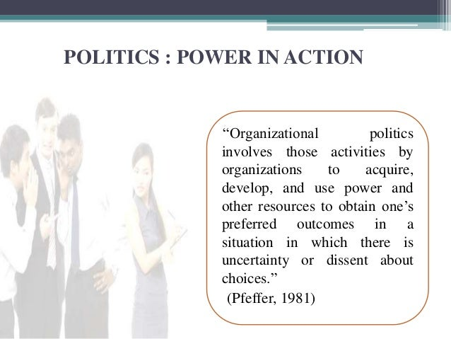 What are the individual and organizational factors that contribute to political behavior