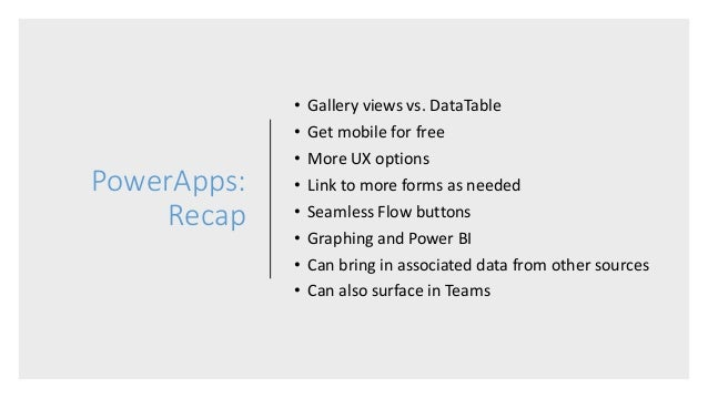 PowerApps: A New Approach to the Traditional SharePoint List