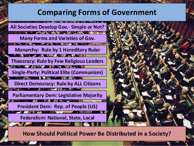 Power, politics and government