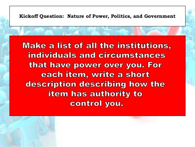 History: Most Americans Distrust Gov… John Locke = Social Contract = Give to Get Still…We Look to Gov. to Provide For Us F...