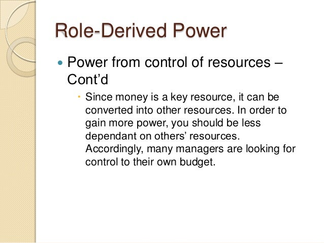 power authority and influence Influence, power & politics in the organization a report by roy e belen page 3 power & influence power - the ability to get someone to do something you want.