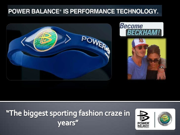 """""""The biggest sporting fashion craze in years""""<br />"""