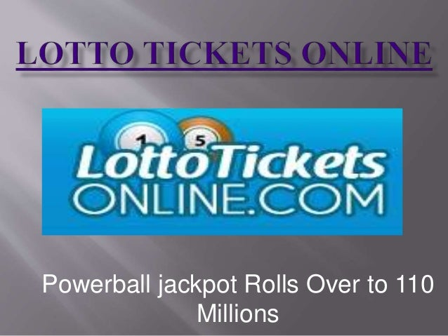how to buy online lotto ticket