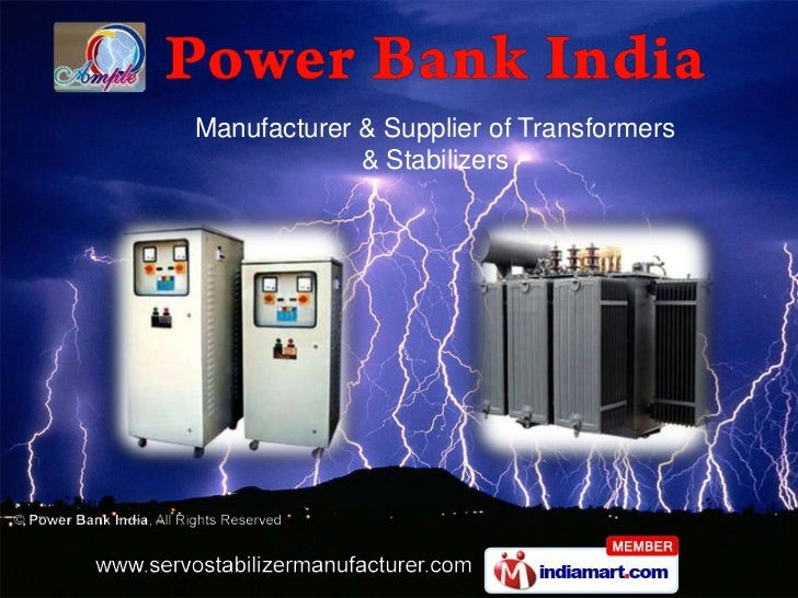 Manufacturer & Supplier of Transformers & Stabilizers<br />