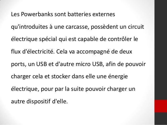 Powerbank. une alternative à l'usb publicitaire personnalisé Slide 2
