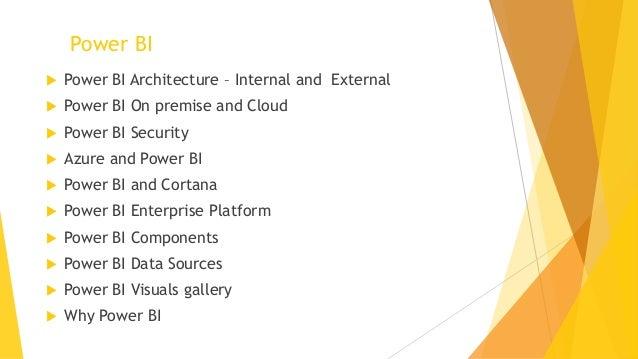 Power BI for CEO Slide 2