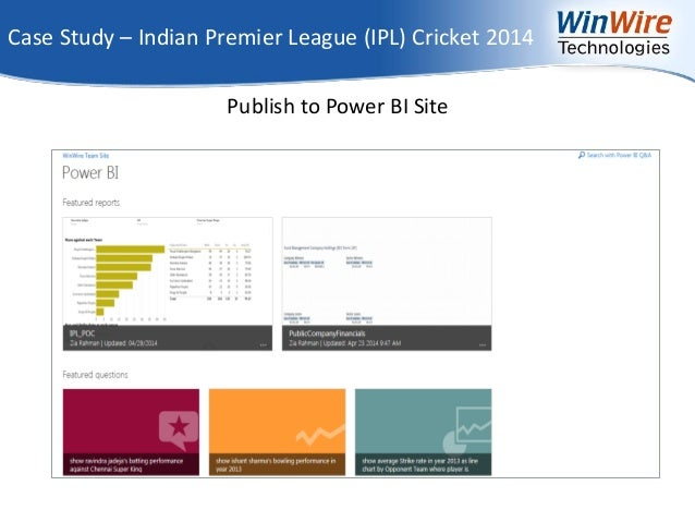 indian premier league marketing case study The ipl marketing - an analysis published on  where exactly did ipl got it right  or how did it utilize the situation  breakdown of seats.
