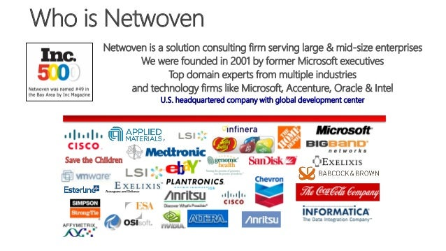 Who is Netwoven Save the Children Netwoven is a solution consulting firm serving large & mid-size enterprises We were foun...