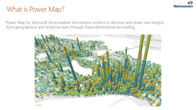 Power Map for Microsoft Excel enables information workers to discover and share new insights from geographical and tempora...
