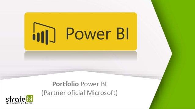 Portfolio Power BI (Partner oficial Microsoft)