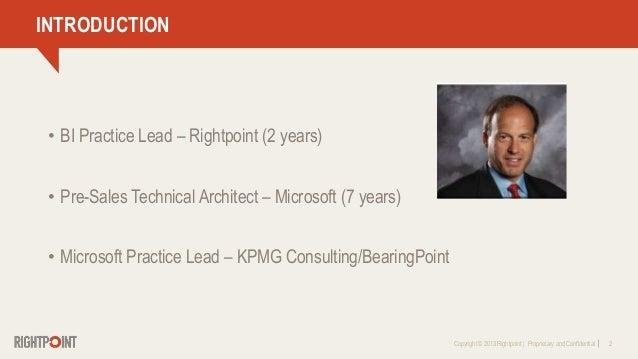 Leveraging Microsoft Power BI To Support Enterprise Business Intelligence Slide 2