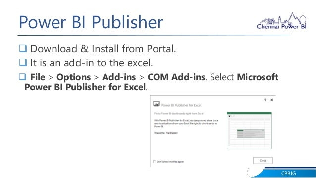 Power BI Publisher