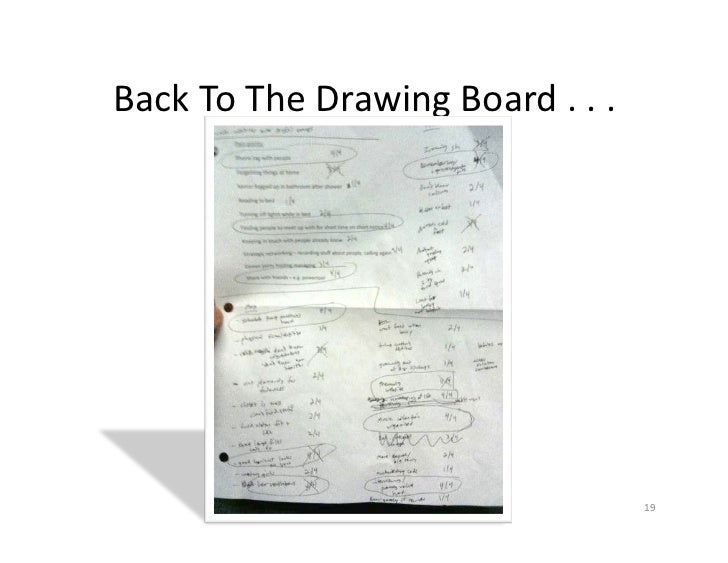 Back To The Drawing Board . . .                                                            19