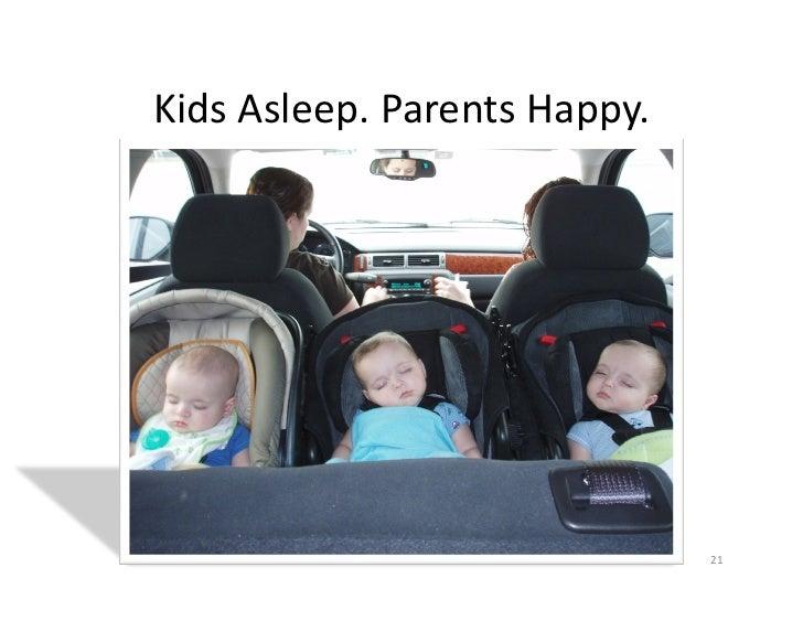 Kids Asleep. Parents Happy.                                            21
