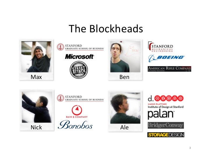 The	  Blockheads	  Max	                   Ben	  Nick	                   Ale	                                     3