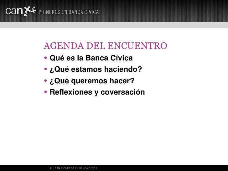 Banca Civica: Pioneros en Banca 2.0 Slide 2