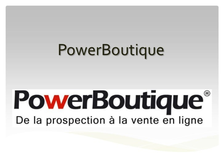 PowerBoutique