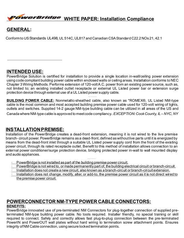 New PowerBridge Cable Management & Power Extenders