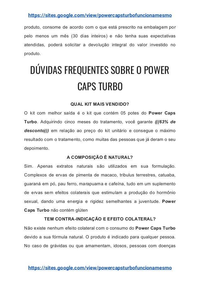 powercaps turbo onde comprar