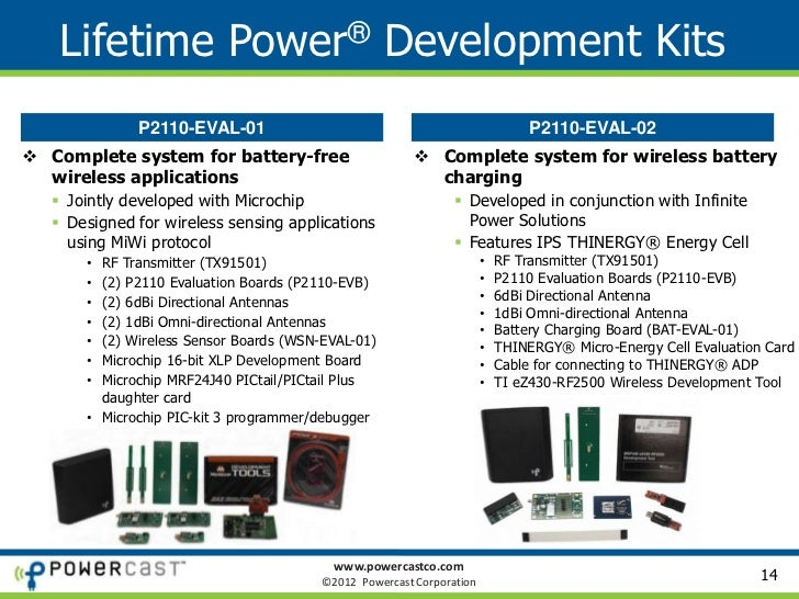 Powercast - RF Energy Harvesting for Controllable Wireless