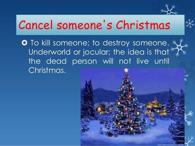 christmas - Christmas Idioms