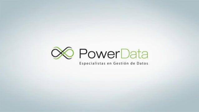 Master Data Management Cómo adquirir y retener mas clientes D. Cano Mayo de 2015