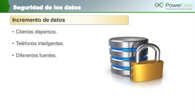 Power data seguridad de datos y enmascarado Slide 3