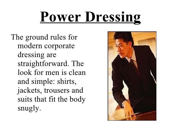 Power Dressing Men