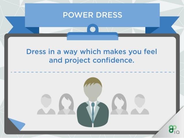 IQ Work Hacks - Power Dressing (For Men)  Slide 3